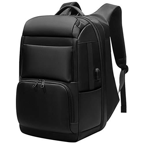 FULANTE Laptop Rugzak voor heren, Multifunctionele Business 15.6/17/17.3 inch Laptop Rugzak, met USB Opladen Poort Waterdichte Reistas