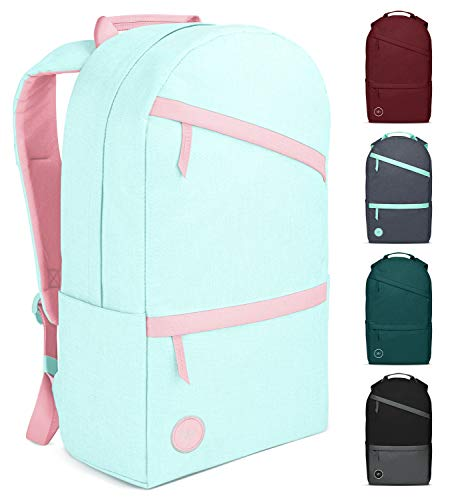 Simple Modern Legacy Backpack with Laptop Compartment Sleeve - 25L Travel Bag for Men & Women College Work School - Sweet Taffy (Accent)