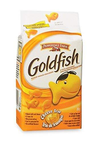Pepperidge Farm Goldfish Baked overseas Cheese Trio {Import oz 200g Ranking TOP5 - 7.1