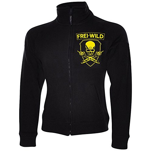 Frei.Wild - Rivalen & Rebellen/Skull Girl-Sweatshirt, Farbe: Schwarz, Größe: M