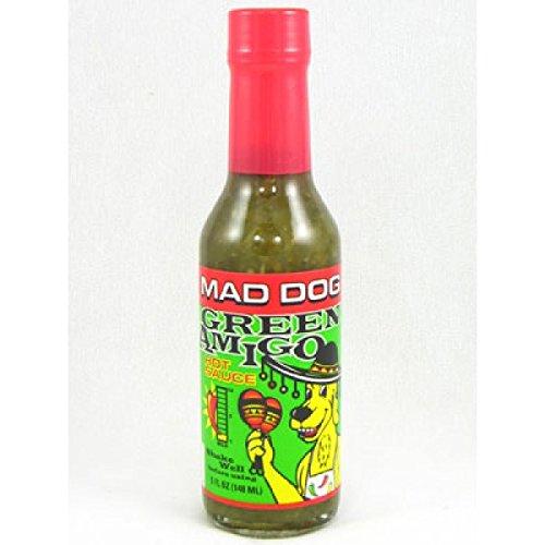 Ashleyfood - Mad Dog Green Amigo Chili Sauce - 148ml
