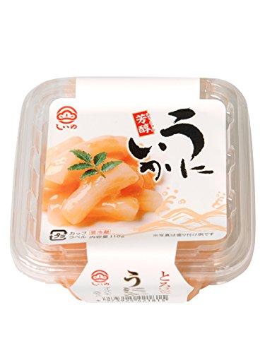 【メーカー直送】 しいの食品 うにいか カップ 110g おつまみ ご飯のお供 珍味