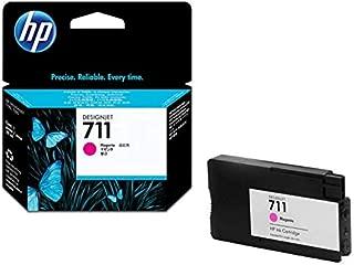 HP HEWCZ135A 711 Magenta Ink Cartridges, Magenta
