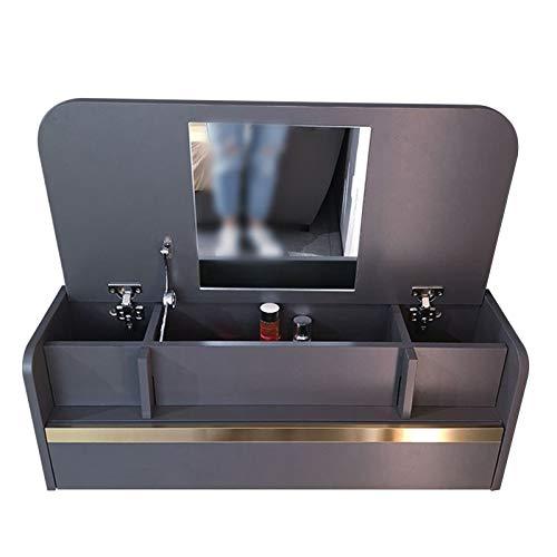 SYJH Escritorio Pared para Espacios Pequeños Mesa de Pared de Escritorio Plegable con Compartimentos de Almacenamiento y Cajones Escritorio de Computadora o Tocador(Size:836×390×296mm)