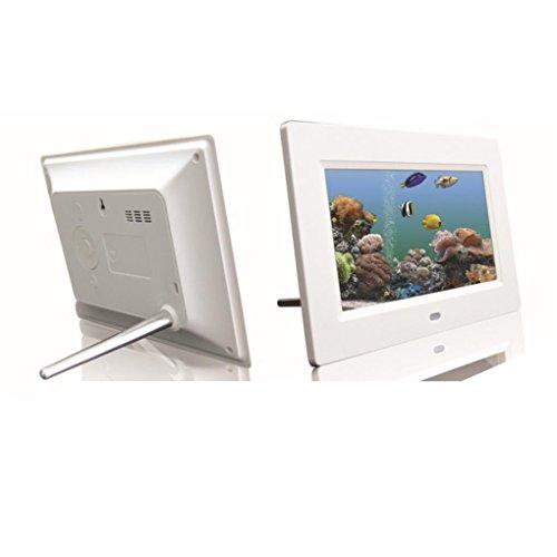 Ouneed® 10inch HD 16:9 Numerique Cadre de Photo 1024*600 LCD Ecran Télécommande Picture MP4 Movie Player (Noir)