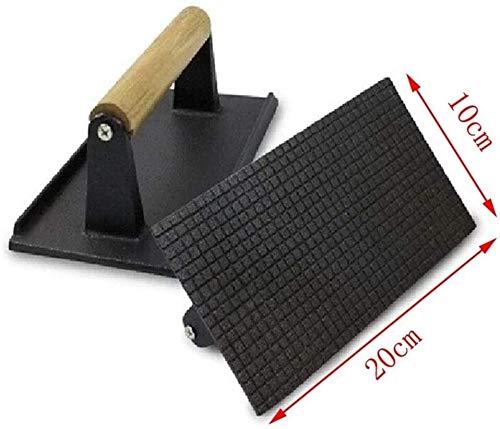 Cfbcc JNT- Grill rösten Tintenfisch Kuchen professionelle Werkzeuge Steak Pressspanplatte Flachdruck Fleisch Hovel Grill Küche Kochutensilien Kochen (Color : 5)
