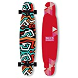 HYE-SPORT Skateboard Dancing Longboard 42 Pulgadas Drop Through Freestyle Longboard Skateboard Cruiser 7 Capas Maple, Estilos de Skate en diseños gráficos