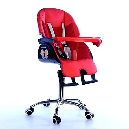 Affordable High Chair Kids Dinner Chair Baby Booster Seat High Chair Portable with Tray Feeding Plat...
