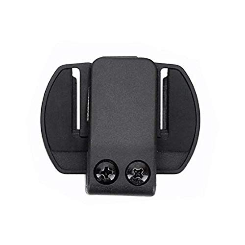 QSPORTPEAK Intercom/Talkie Accesorio Clip para Interphone Bluetooth Casco de la Motocicleta Intercom Auriculares V6 / V4
