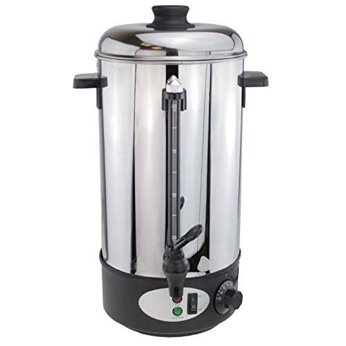 Elektro Wasserkocher 8 Liter Glühweinautomat Teekocher Heißwasser Spender Kaffeeautomat Glühweinkocher Glühweintopf Isolierkanne für Glühwein, Kaffee und Tee