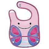 Skip Hop Zoo - Babero, diseño butterfly, multicolor