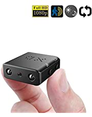 ZTour マイクロカメラ 1080P 赤外線 暗視 動作検出 黒 XD