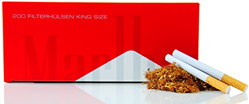 Marlboro Zigarettenhülsen 200 Stück XL Pack