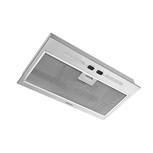 Broan-NuTone PM250SSP Stainless Steel Custom Range Hood Power Pack with LED Lights, 250 CFM, 20.5-Inch, 1 Count (Pack of 1)