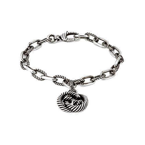 Gucci interlocking g zilveren armband 16cm / 6.30inch yba607158001016