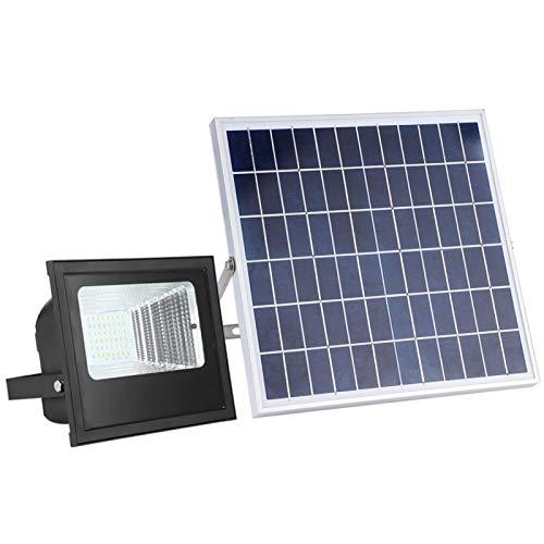 Lámpara de pared solar, 48 piezas 2835 Cuentas LED brillantes Sin radiación y servicios prolongados Luz cálida + Luz blanca Luz de inundación solar LED para garaje para patio trasero