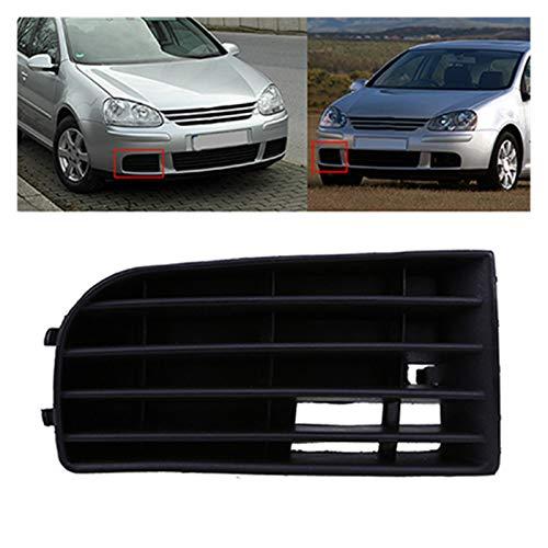 JZLMF Rejillas Frontales Parachoques Delantero del Coche Parrilla Inferior para VW Golf MK5 2004 2005 2006 2007 2008 2009 Accesorios de reemplazo del Lado de Auto (Color : 1 Pc Right)