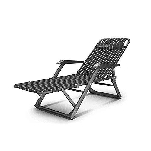 Tedyy - Sedia pieghevole da giardino, con sedia a sdraio e sedie reclinabili da esterni, regolabile, con sedia a sdraio da campeggio, per il tempo libero, colore: A, dimensioni: 67 x 66 cm