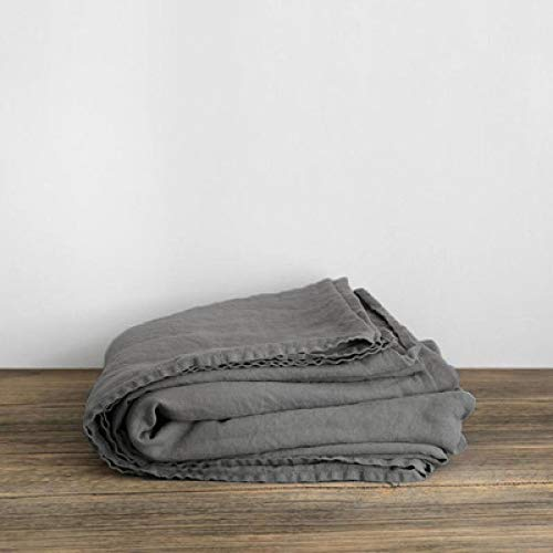 IKITOBI Sábana bajera ajustable para cama doble, suave, cómoda, lavable a máquina, transpirable, 150 x 230 cm