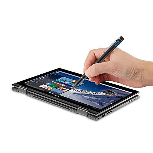 AZLMJXH Kapazitive Feder für Dell XPS 13 15 12 Inspiron 3003 5000 7000 3189 3180 Chrome 11 Aktive Stylus-Screen-Feder für Laptop,Schwarz