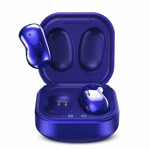 Urbanx Street Buds Live True Wireless Earbud Headphones for Samsung Galaxy Tab Pro 12.2 LTE - Wireless Earbuds w/Active Noise Cancelling - Blue (US Version with Warranty)