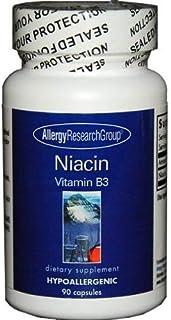 Allergy Research Group- Niacin Vitamin B3 250 mg 90 caps