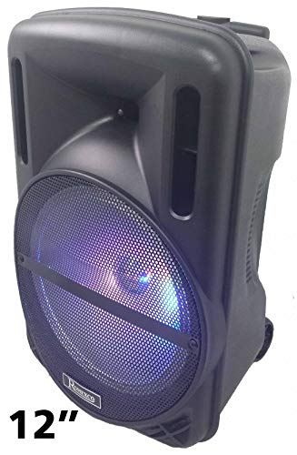 "Altavoz PORTATIL Trolley Bluetooth SUBWOOFER 12"", 80W Reales-(700W PMPO), Karaoke,con MICRÓFONO,Radio,USB RX-1030"