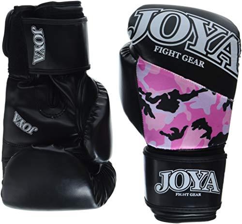 JOYA Kickboxing - Guanti mimetici da Bambino, 10 oz, Colore: Rosa