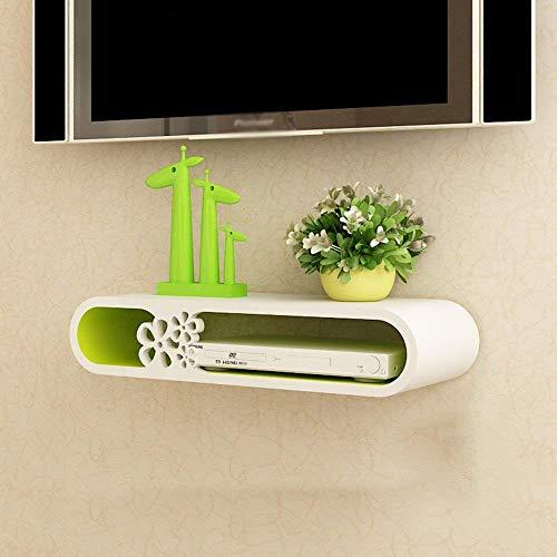 Ccgdgft plank muur opknoping plank Partitie Tv Achtergrond Muurdecoratie Set-Top Box plank ruimtebesparing en eenvoudig te installeren, A