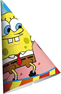 SpongeBob Buddies Cone Hats - 8 Count