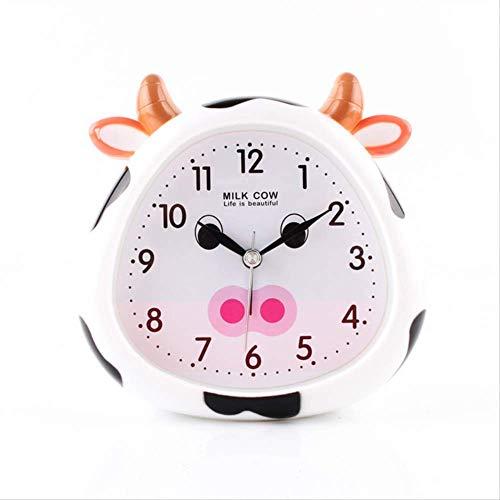 Yywl Alarm Klok Cartoon Alarm Klok Student Nacht Licht Klok Nachtkastje Kinderen Wekker Klokken Baby Kamer Tafel Decoratie Bell Despertador