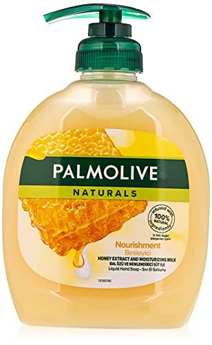Palmolive Naturals Jabon de Manos Leche y Miel, 300ml