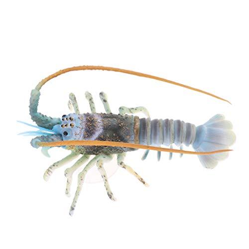 LOVIVER Künstliche Aquarium Tier Klare Unterwasserhummer Für Innenministerium - Grün