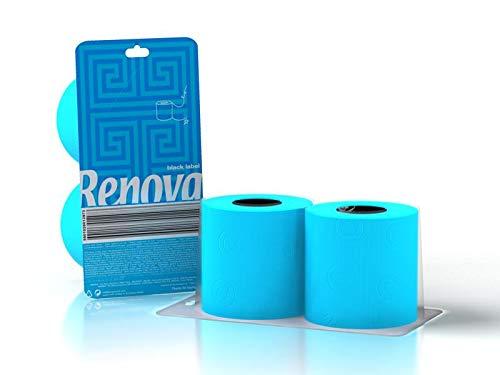 Renova Papel Higiénico Azul - Pack Regalo 2 Rollos