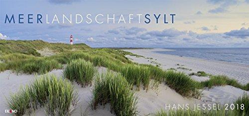 Meerlandschaft (Sylt) 2018: Panorama-Grossformatkalender