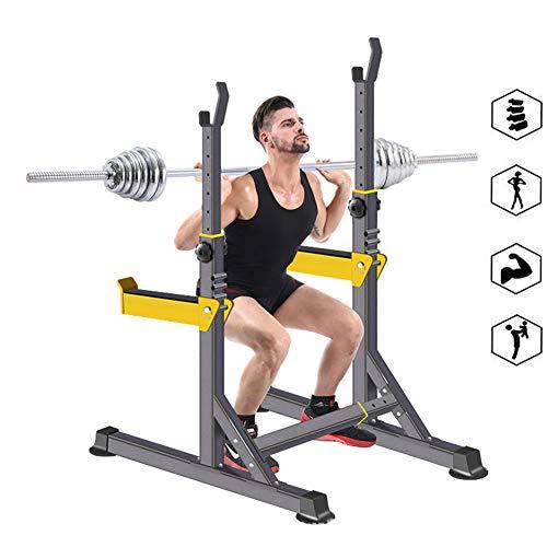 Squat Rack Gorilla Weight Bench Support Langhantel Kniebeugen Ständer Mehrere Tastenpositionen Rstellbarer Halbrahmenhalter Robust Ablage Für Langhantelstangen