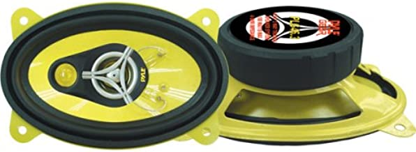Car Three-Way Speaker System – Pro 4 x 6 Inch 180W 4 Ohm Mid Tweeter Component..