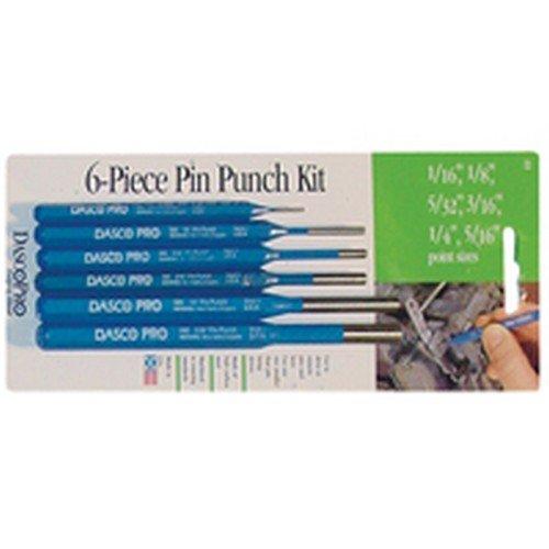 Dasco Pro 22 Pin Punch 6 Piece Set