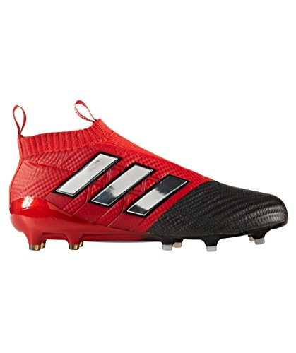 Ace 17+ Pure Control FG Football Boots - Red/White/Core Black - Size 7