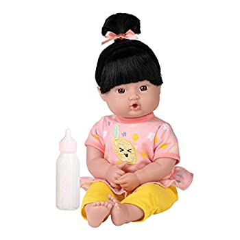 Adora Playtime Baby Doll Bright Citrus 13 inch Asian Soft Doll Best Baby Toy Gift for Age 1+