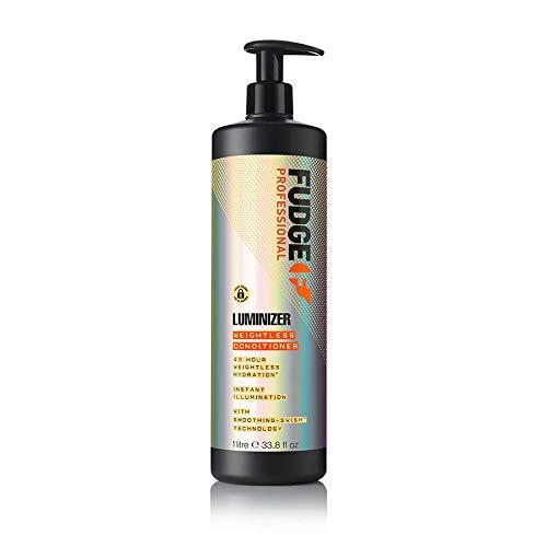 Fudge Professional Luminizer Après-shampoing fortifiant et lissant Taille salon Flacon pompe 1000 ml