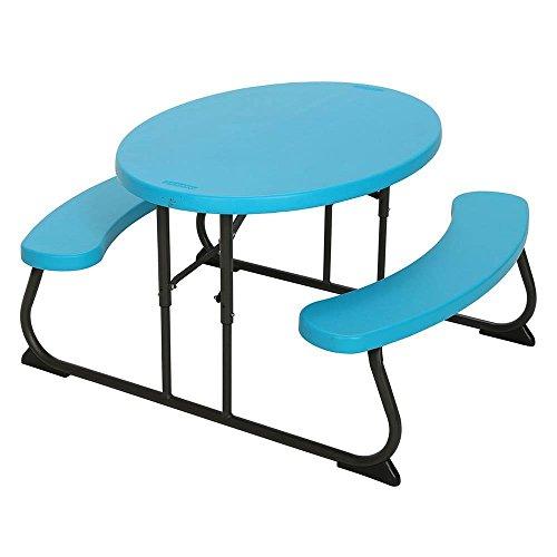 Generic Garden Furn Enfants Camping G Garde Ovale Places Campin Table de Pique-Nique Pliante Ovale Ensemble de Meubles de Jardin Cnic Table. et chaises