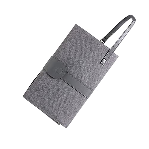 WangQianNan Cochecito plegable impermeable para bebé, portátil, multifuncional, funda para pañales, cambio de pañales, bolsa de almacenamiento de toallitas húmedas (color: HuiSeXueHua)