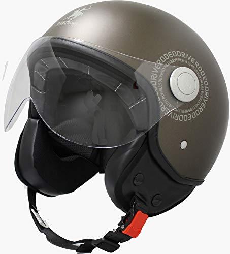 casco scooter omologato donna Rodeo Drive RD104N PLUS casco scooter demi jet color