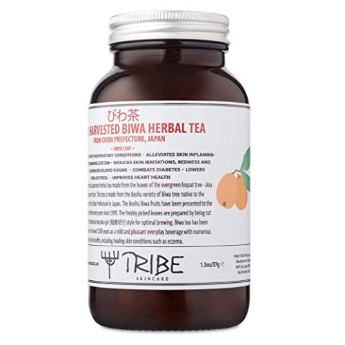 Tribe Skincare Wild Harvested Biwa Herbal Tea (びわ茶) from Chiba Prefecture, Japan