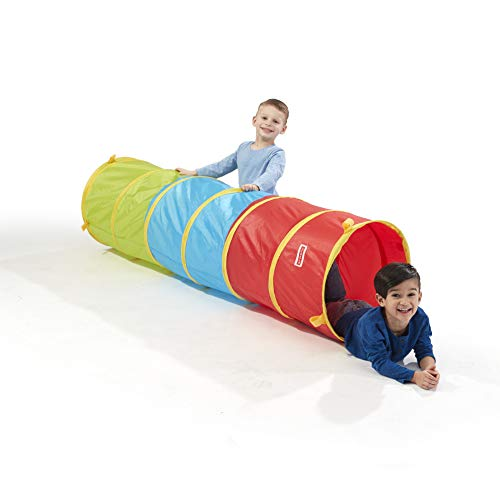 Playhut 6 Ft Play Tunnel – Easy Pop-Up and Fold Down, Connect to...
