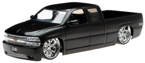 2002 Chevy Silverado Diecast Model Truck - 1:18 Scale Black