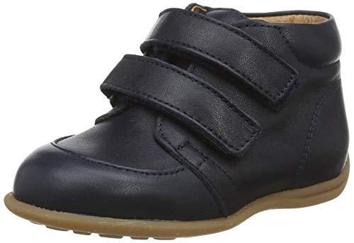 bisgaard luca Jungen Unisex Kinder First Walker Shoe, Navy, 23 EU
