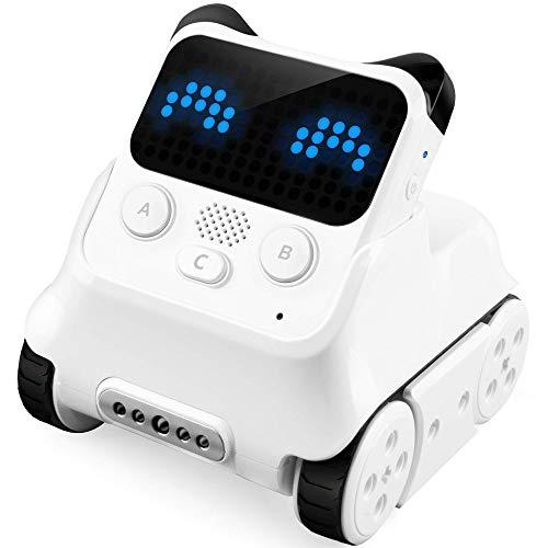 Makeblock Codey Rocky Robot Programable, Codificación de Juguetes, Diseño de Juegos, Compatible con Python, Versión Bluetooth, Versión Inglesa