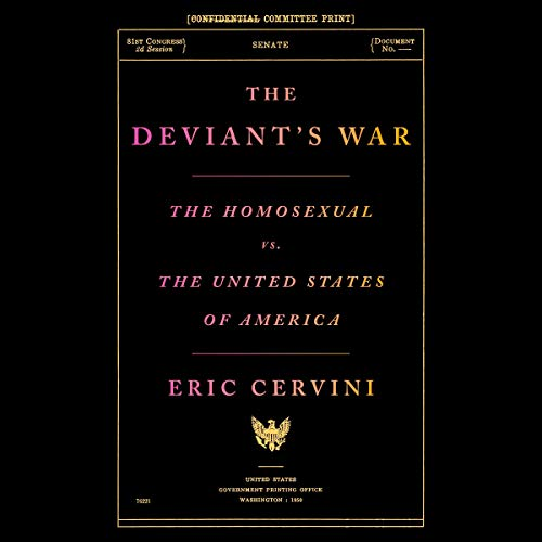The Deviant's War audiobook cover art
